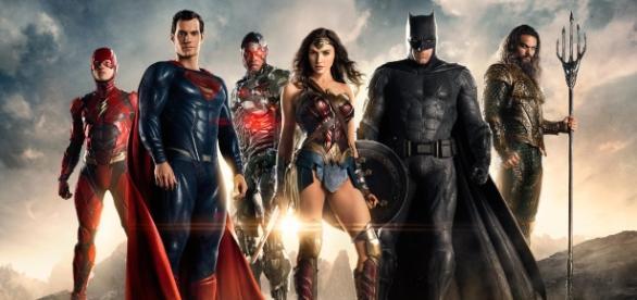 Primera imagen oficial de La Liga de la Justicia