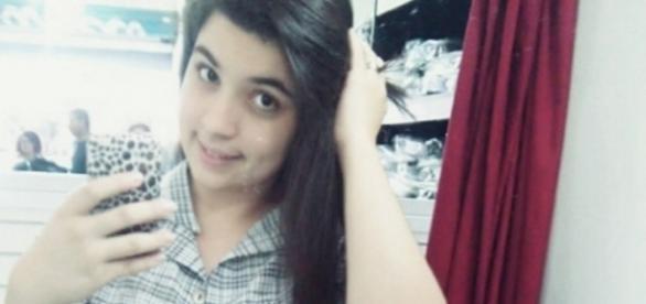 Raquel Ester Almeida Mendes, 18 anos, desapareceu neste domingo. (Foto: ABCD Maior)