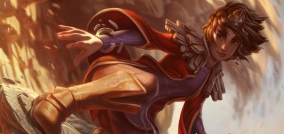 Taliyah, campeón de League of Legends