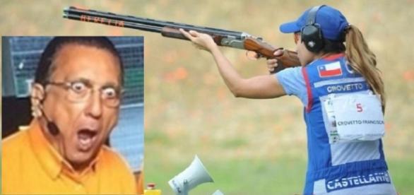 Atleta do tiro é assaltada - Foto/Reprodução