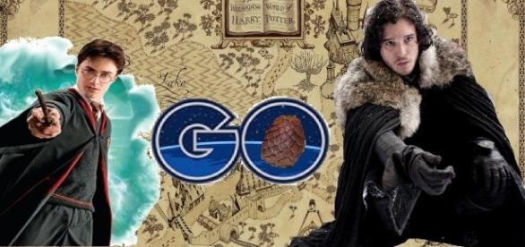 Game of Thrones e Harry Potter podem receberm games estilo Pokémon Go