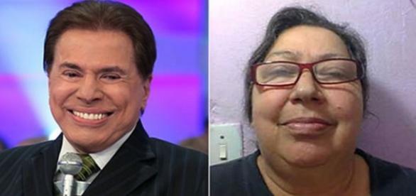Mulher acusa Silvio Santos de forjar DNA