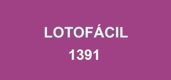 Sorteio da Lotoácil 1391 com prêmio de R$ 1,7 milhão