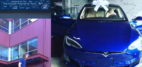 Sus empleados le regalan un auto por su generosidad a su jefe. (Foto: Facebook)