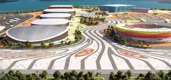 Vila Olímpica 2016 na Barra da Tijuca.