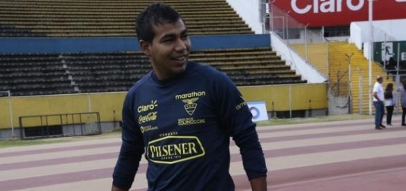 Destaque do Independente Dell Valle, Junior Sornoza deve reforçar o Fluminense em 2017 (Foto: Divulgação)