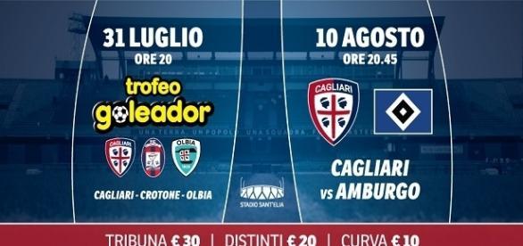 Le prossime partite del Cagliari e l'arrivo di Alves.