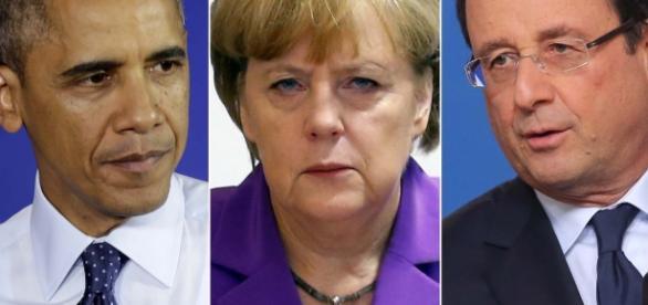 Obama și Hollande, mesaje de susținere pentru Germania