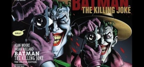 Respectivas capas da HQ e do DVD/Blu-ray, que será lançado em Agosto.