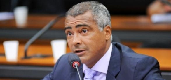 Romário ficará no Senado Federal
