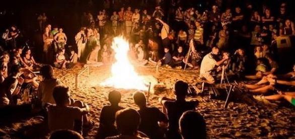 Focul de tabără la seara de folk, 2015