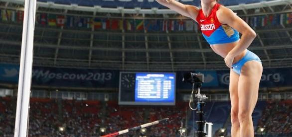 Isinbayeva se despide con el campeonato mundial en las manos ... - colombia.com