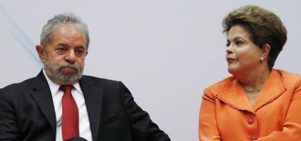 Lula e Dilma parecem estar cada vez mais distantes