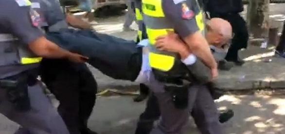 Suplicy é preso em São Paulo. Foto: F. de São Paulo