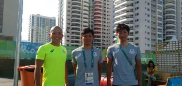 Atletas japoneses não conseguiram usar vaso