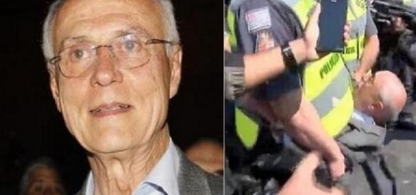 Eduardo Suplicy é preso - Foto/Montagem
