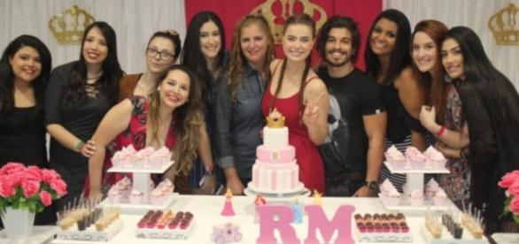 Fãs prepararam festa surpresa para Rayanne