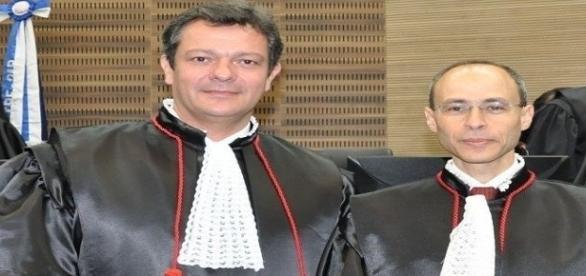 Juiz Marcello Granado (esq.) não quer devolver salário dobrado que recebeu por engano