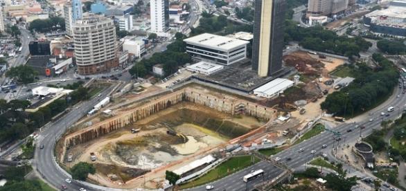 Piscinão do Paço Municipal de São Bernardo não será concluído em 2016