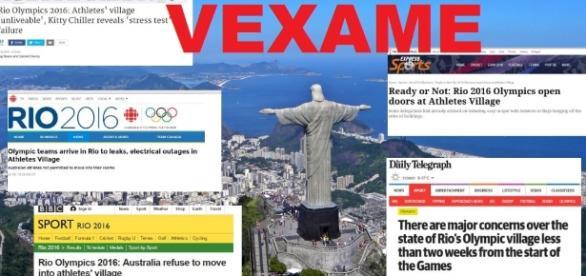 Rio de Janeiro vira chacota em todo o planeta