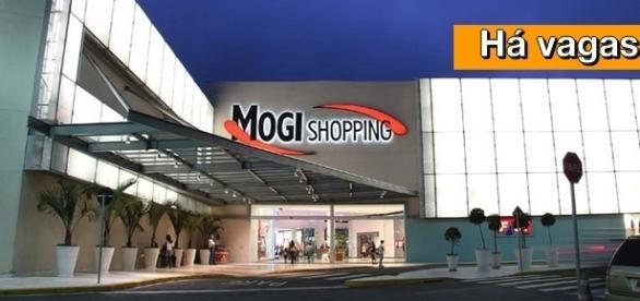 Shopping de Mogi das Cruzes tem vagas abertas
