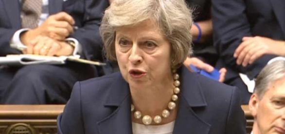 Theresa May's first PMQs: New head stamps mark « Shropshire Star - shropshirestar.com