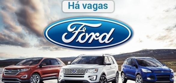 Vagas abertas na Ford. Foto: Reprodução Feelgrafix