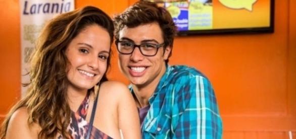 Amanda de Godoi e Francisco Vitti estão namorando (Divulgação/Globo()