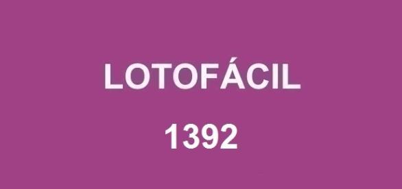 Sorteio da Lotofácil 1392 aconteceu nesta segunda-feira, dia 25