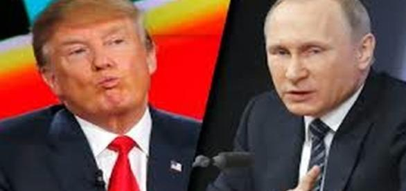 Donald Trump and Russian leader Vladimir Putin re: Google Advanced Image Search.
