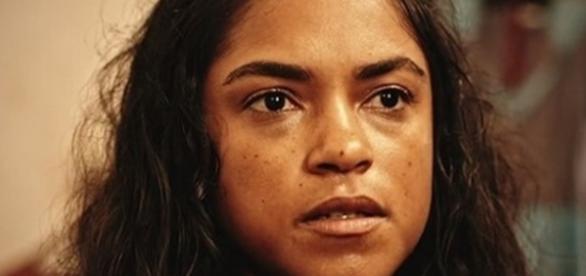Luzia, personagem da atriz Lucy Alves em 'Velho Chico' (Divulgação/Globo)