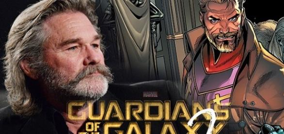 Presentan la primera imagen de Kurt Russell para el rodaje de 'Guardianes de la Galaxia 2'