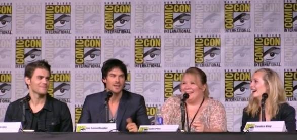 The Vampire Diaries: painel da Comic-Con 2016 (Foto: Screencap/Youtube)
