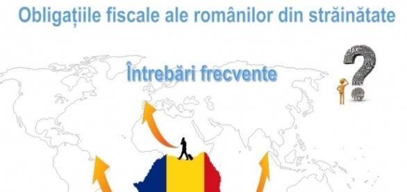 A fost lansat ghidul obligaţiilor fiscale pentru românii din străinătate