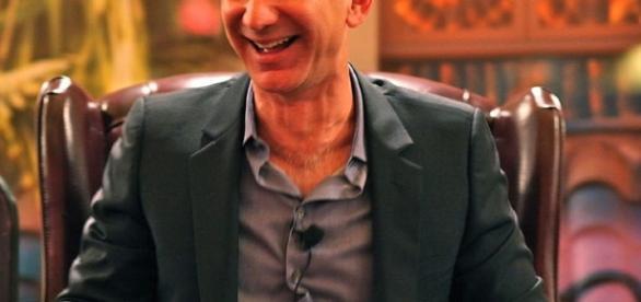 Amazon CEO Jeff Bezos. Source: Wikipedia.