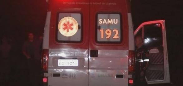 Em Bauru, Samu não chegou a tempo de salvar motociclista (Foto: TV TEM/Reprodução)