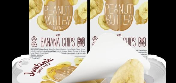 Justin's new Peanut Butter and Banana Chip snack pack