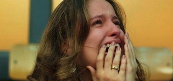 Morte de Felipe deixa Nanda desesperada. Foto divulgação Internet / Globo