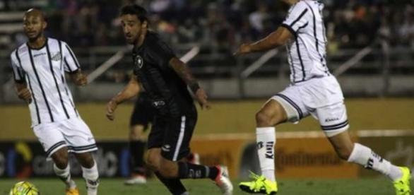 Na partida de ida, no interior paulista, Bragantino e Botafogo empataram em 2 a 2.