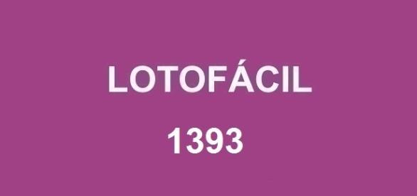 Prêmio superior a R$ 1,7 milhão deverá ser entregue na Lotofácil 1393