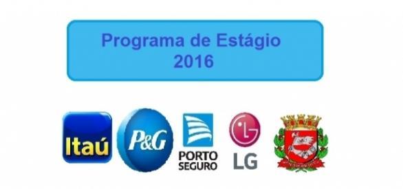 Programa de Estágio 2016 com diversas vagas