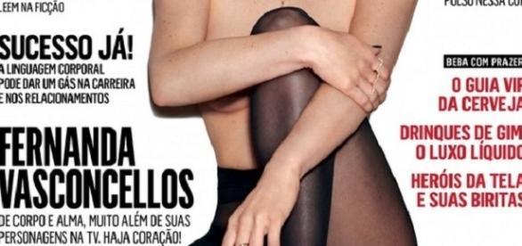 Estrela da Globo ensaio sensual