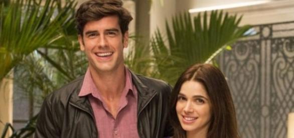 Felipe e Shirlei ficam cada vez mais próximos (Divulgação/Globo)