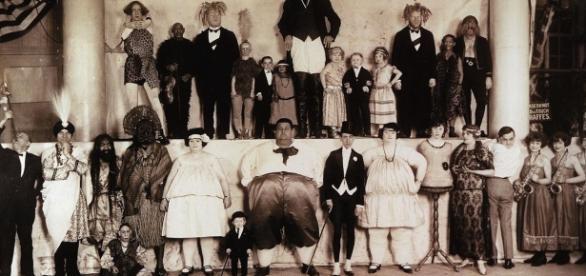 La troupe du cirque dirigé par Phineas Taylor Barnum