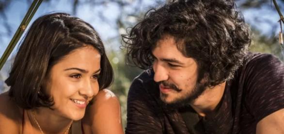 Miguel e Olívia transam pela primeira vez