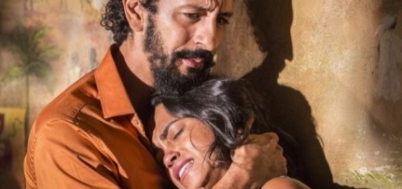 Bento e Luzia não geraram Olívia (Divulgação/Globo)