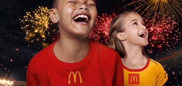 Crianças sorteadas pelo McDonald's vão para os jogos olímpicos com tudo pago