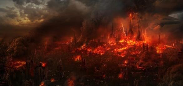 Será que o mundo acaba hoje? (Foto: Notícias de Itapetinga/Reprodução)