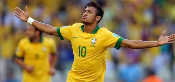 Neymar integra a seleção olímpica de futebol e está hospedado em Goiânia