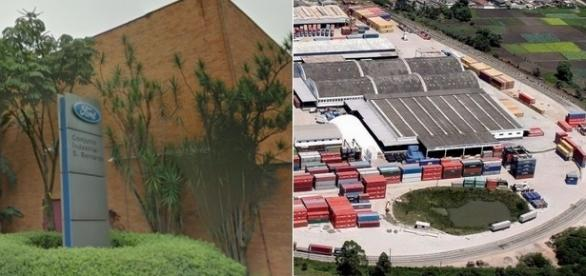 Novo centro de exportação da Ford em Suzano